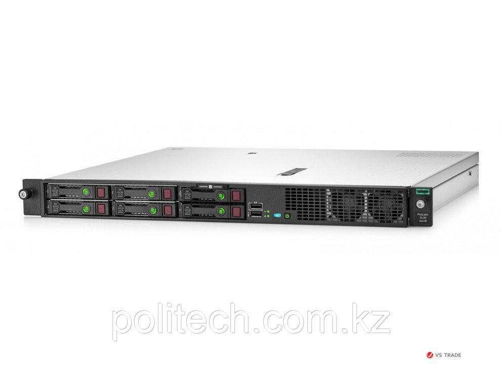 Сервер HPE P17081-B21 DL20 Gen10 1U (Xeon E-2236(6C-3.4G)/ 1x16GB U/ 4 SFF SC/ SATA RAID/ 2x1GbE/ 1x500Wp/ 3yw