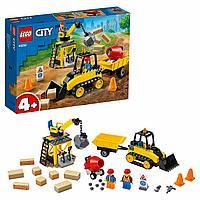LEGO 60252 City Great Vehicles Строительный бульдозер, фото 1
