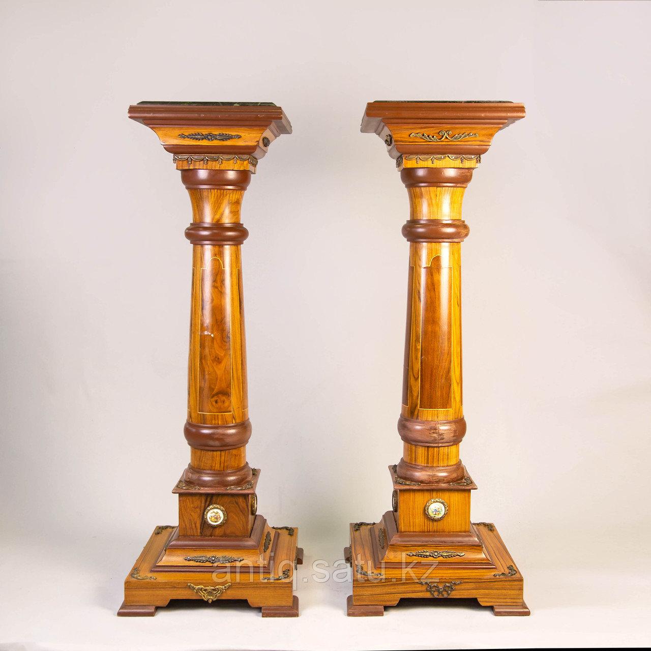 Парные колонны в дворцовом стиле Западная Европа. - фото 1