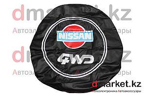 Чехол на запасное колесо R16 Nissan 4WD, кожзам