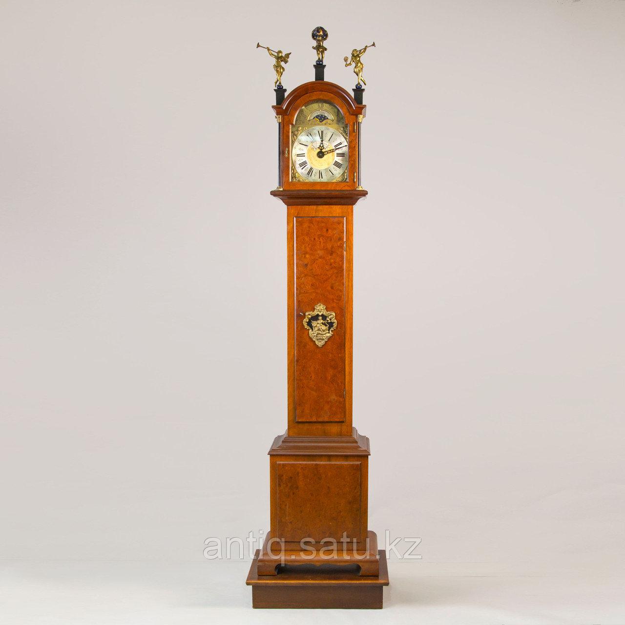 Напольные часы с лунным календарем. Голландия - фото 1