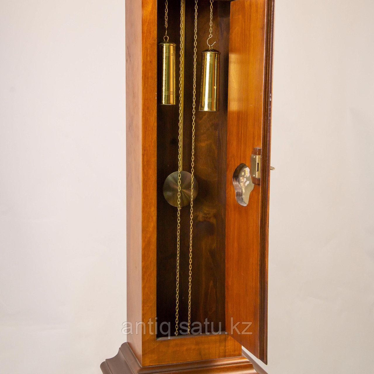 Напольные часы с лунным календарем. Голландия - фото 2