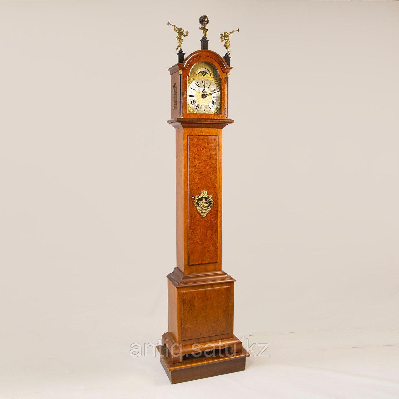 Напольные часы с лунным календарем. Голландия - фото 5