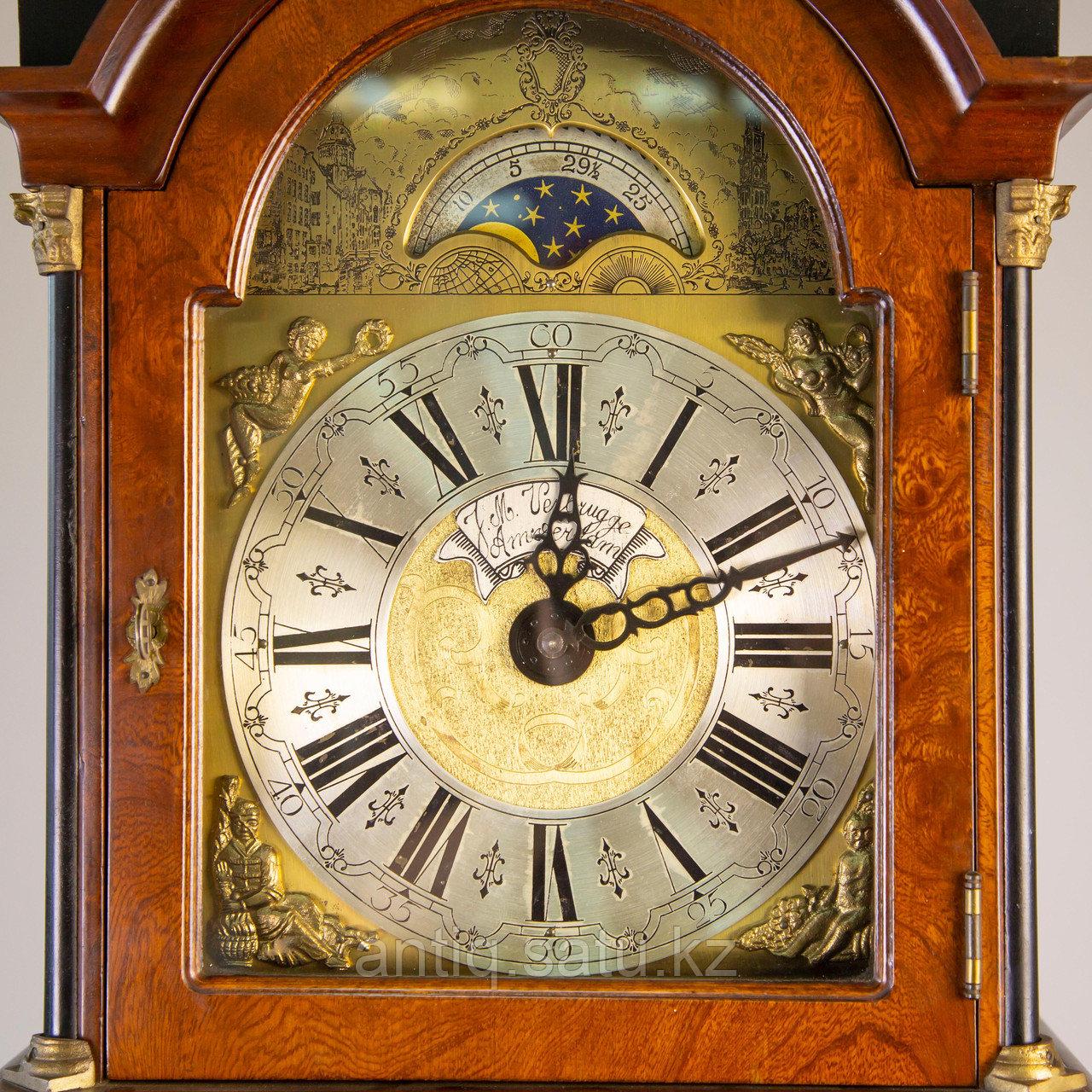 Напольные часы с лунным календарем. Голландия - фото 8
