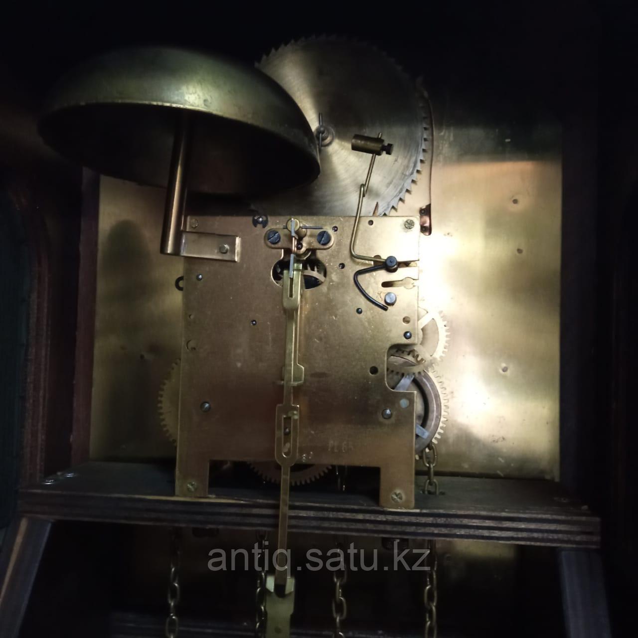 Напольные часы с лунным календарем. Голландия - фото 9
