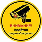 """Табличка """"Ведется видеонаблюдение"""", размер d - 20см, фото 2"""