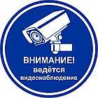 """Табличка """"Ведется видеонаблюдение"""", размер d - 20см, фото 4"""
