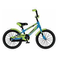 """Детский велосипед Novatrack 16"""" EXTREME, синий"""
