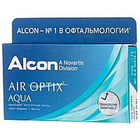 Контактные линзы Alcon Air Optix Aqua 3 линзы