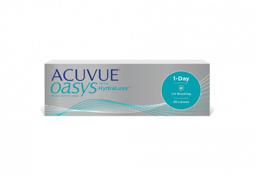Контактные линзы Acuvue Oasys HydraLuxe, упаковка 30 шт - фото 1