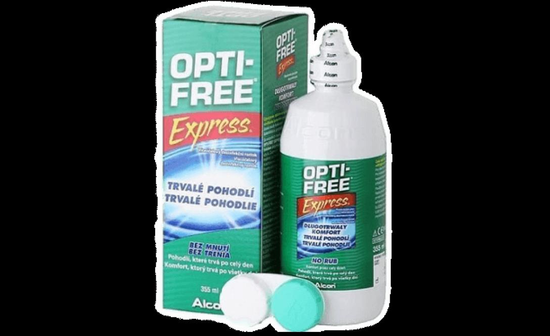Раствор для линз Alcon Opti Free Express 355 мл - фото 1
