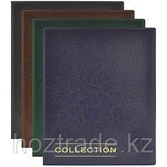 """Альбом для монет OfficeSpace """"Optima"""" 230*270 на кольцах, 10л. с разделителями, ПВХ + изолон"""