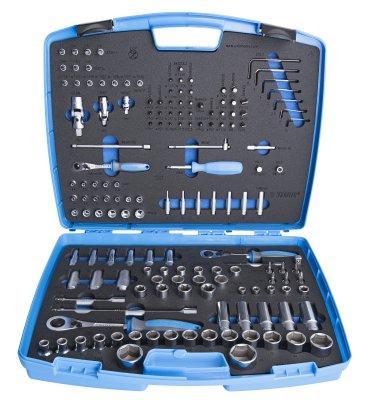 Набор инструментов (154 предмета) в пластиковом кейсе - 404D UNIOR