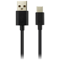 CANYON UC-2 Type C USB 2.0 standard cable 5V 1A1.8m, black