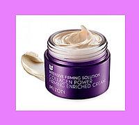 Питательный крем для лица с коллагеном Mizon Collagen Power Firming Enriched Cream