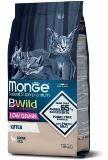Monge Bwild Low Grain Kitten 1,5кг (Гусь) Сухой корм для котят, Goose