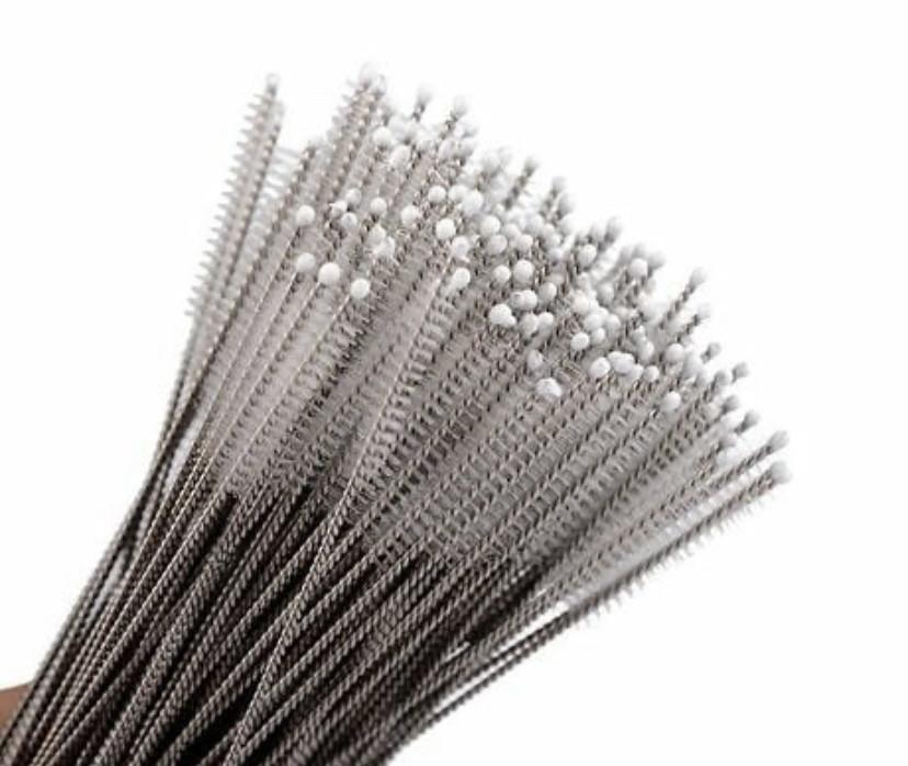 Металические щёточки для очистки трубочек