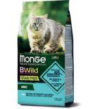 Monge Bwild GF Cat Merluzzo (Треска) 1,5кг беззерновой корм для взрослых кошек, фото 1
