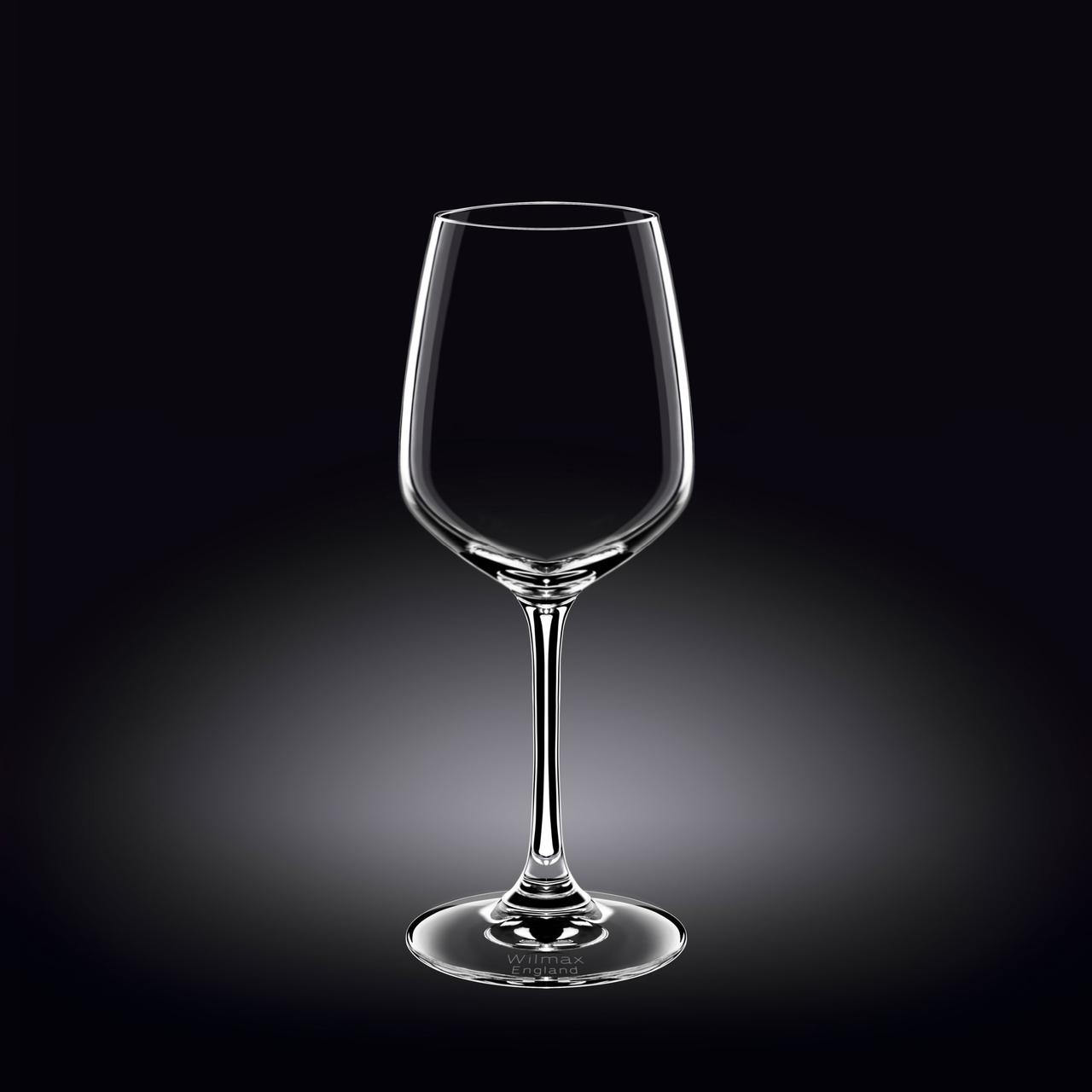 Набор бокалов для вина Wilmax 380мл (6шт.)