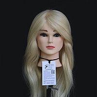 Каспи Рассрочка!!! ХИТ ПРОДАЖ!!! Манекен-голова 95% натуральный, блонд
