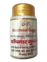 Канчнар (Канчанар) Гуггул, Шри Ганга Kanchnaar Guggulu Sri Ganga 50 гр (примерно 160 табл. по 300 мг)