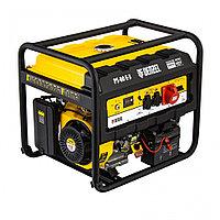 Генератор бензиновый PS 80 E-3, 6.6 кВт, 400 В, 25 л, электростартер Denzel, фото 1