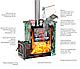 Печь для бани из нерж. стали Эверест INOX 15 (210) Ковка, фото 2