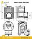 Печь для бани из нерж. стали Эверест INOX 20 (205) Ковка, фото 3