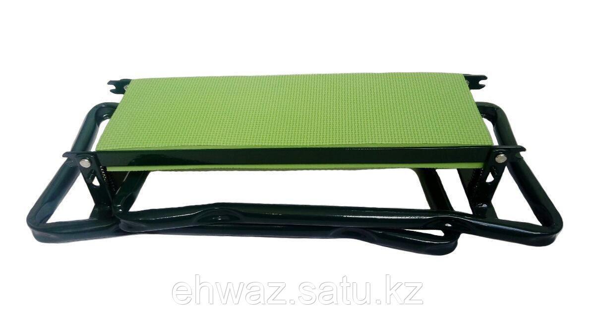 Скамейка-подставка для работы на даче - фото 2
