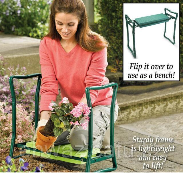 Скамейка-подставка для работы на даче - фото 3