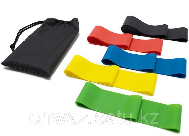 Резинки (мини-петли) для фитнеса, набор в чехле - фото 3