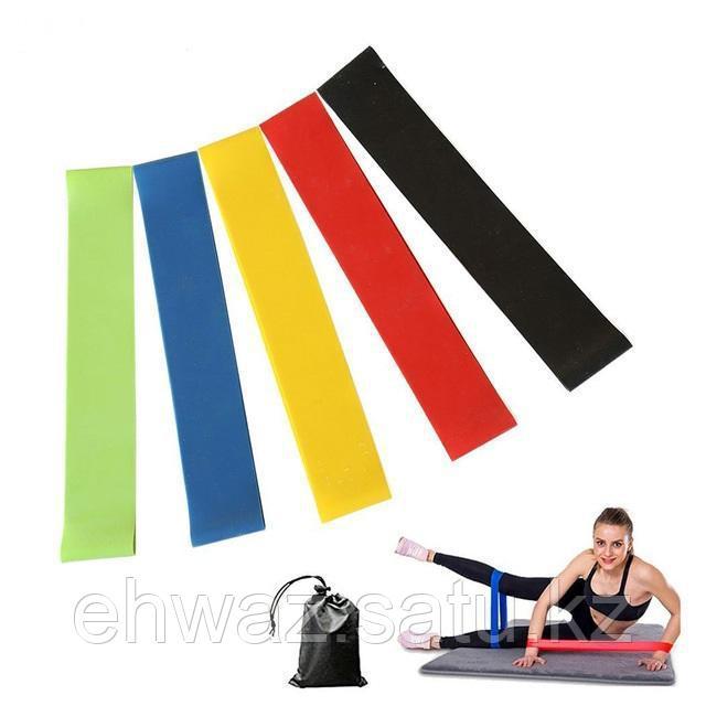 Резинки (мини-петли) для фитнеса, набор в чехле - фото 4