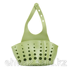 Органайзер для кухни и ванной на кнопке зеленый