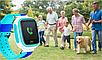 Детские смарт-часы Q80 1.44, цвет голубой + синий, фото 7