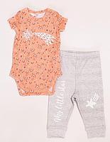 Batik Комплект боди и брюки для девочки (02201/1_BAT)
