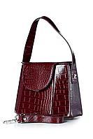 Женская осенняя кожаная красная сумка Galanteya 33619.0с2762к45 бордо без размерар.