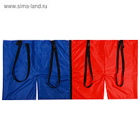 Шорты эстафетные, две штанины с лямками, взрослые, цвета микс