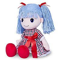 Мягкая игрушка «Кукла Стильняшка», с голубыми волосами, 40 см