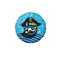"""Шар фольгированный 18"""" «Пират», круг"""
