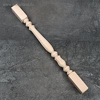 Балясина деревянная, 6×6×90 см, массив бука, сорт АВ