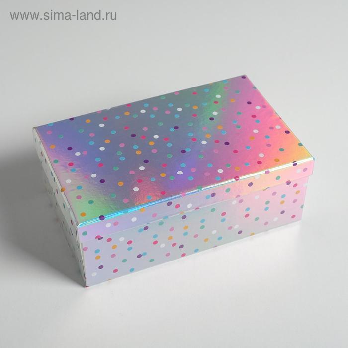 Набор иридисцентных коробок 10 в 1 «С Днем Рождения», 12 × 7 × 4 - 32.5 × 20 × 12.5 см - фото 8
