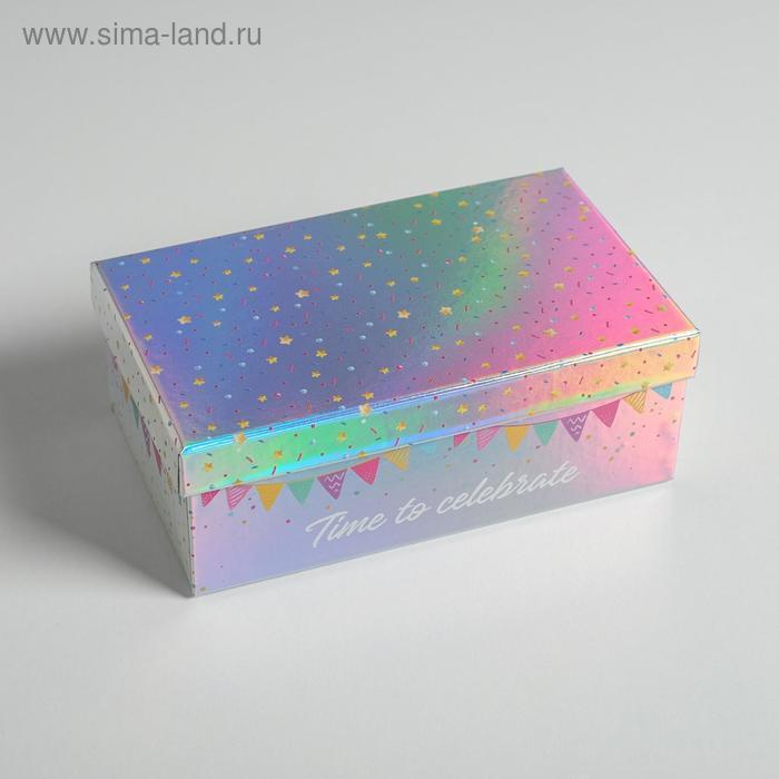 Набор иридисцентных коробок 10 в 1 «С Днем Рождения», 12 × 7 × 4 - 32.5 × 20 × 12.5 см - фото 10