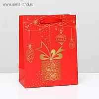 """Пакет ламинированный """"Подарочный"""", 18 x 23 x 10 см"""