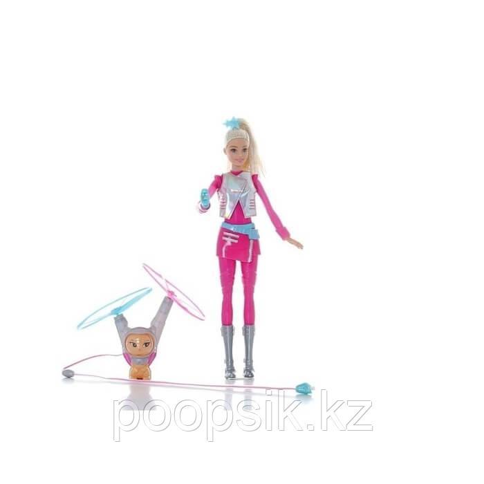 Барби с летающим питомцем Космическое приключение Barbie DWD24 - фото 6