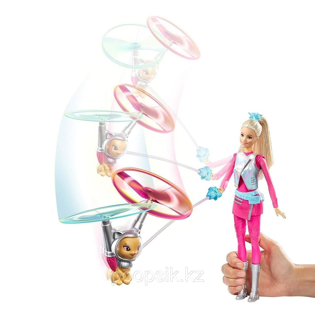 Барби с летающим питомцем Космическое приключение Barbie DWD24 - фото 5
