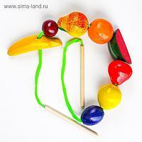 Бусы «Фрукты-ягоды» цветные