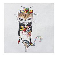 "Картина ""Lady Cat"" (80x80)"