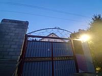 Ворота металлические б/у, в отличном состоянии