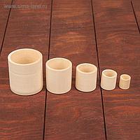 Цилиндрики-стаканы, 5 в 1