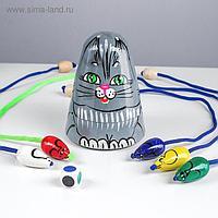 Игра детская «Кошки-мышки» серый кот
